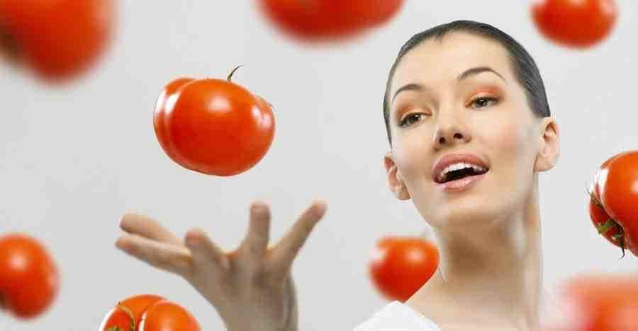 tomat untuk wajah